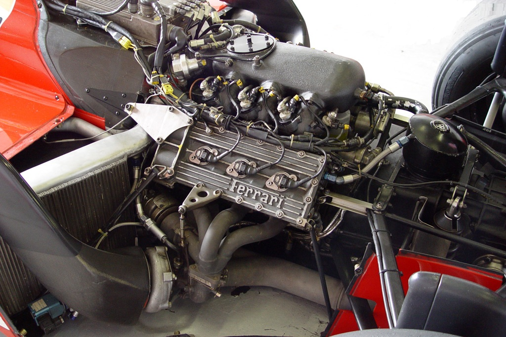 Type 033 Ferrari Engine