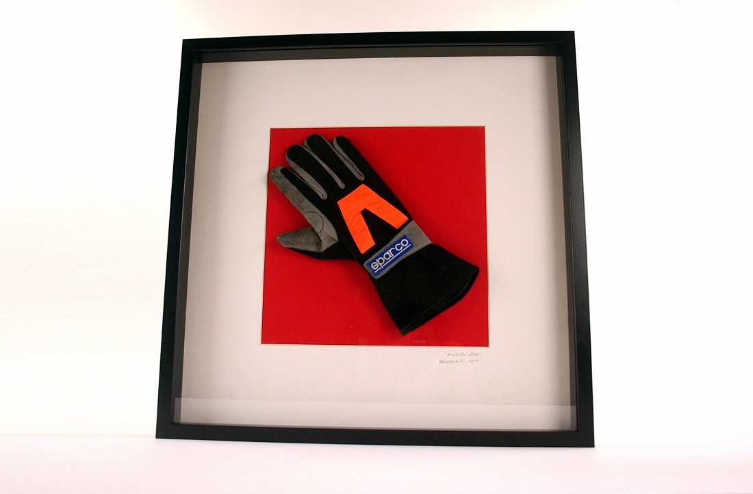 Minardi 2001 wheel mechanic glove - Click Image to Close