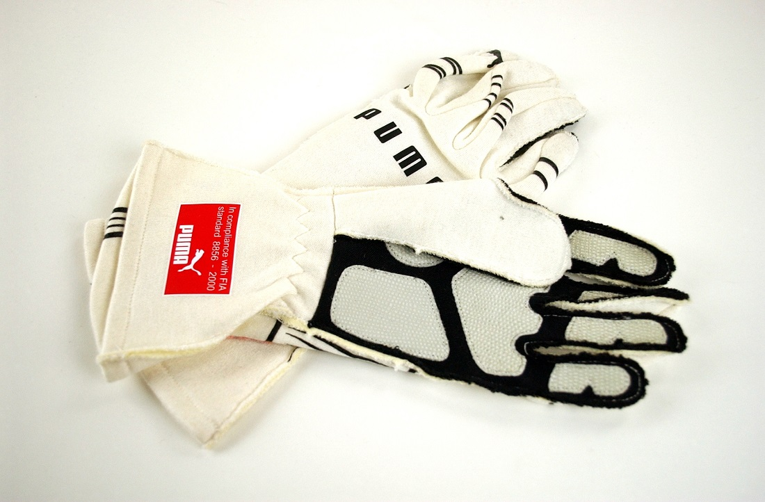 Nelson Piquet 2009 Original gloves