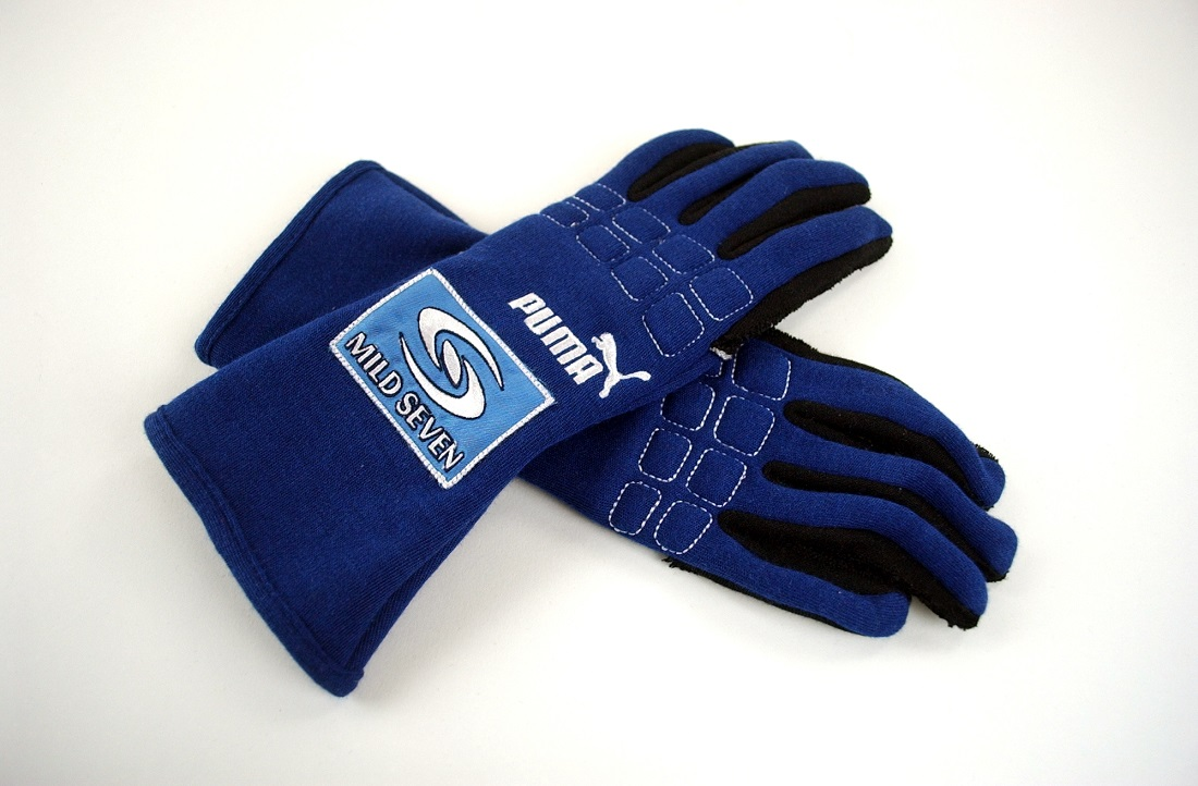 Guantes Fernando Alonso Renault 2005