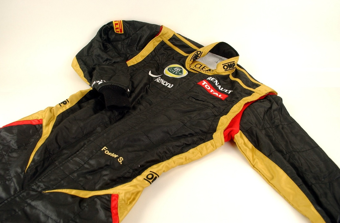 Original team Lotus 2012 mechanic race suit