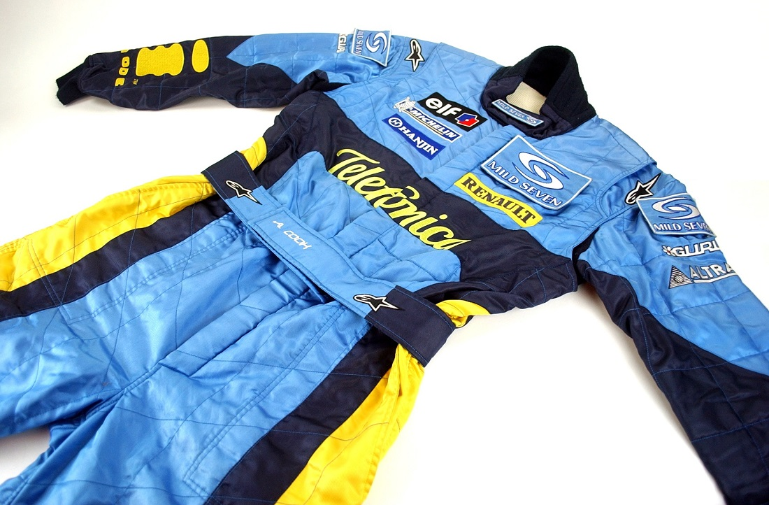 Original 2003 Renault F1 team mechanic race suit