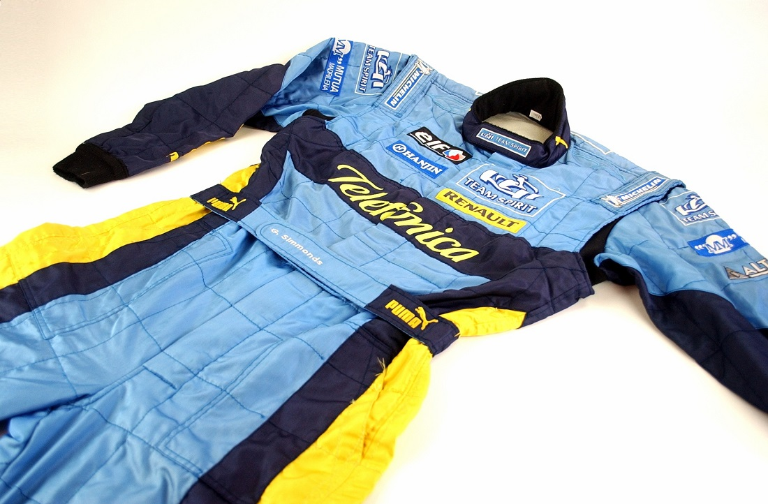 Original 2006 team mechanic Renault F1 race suit