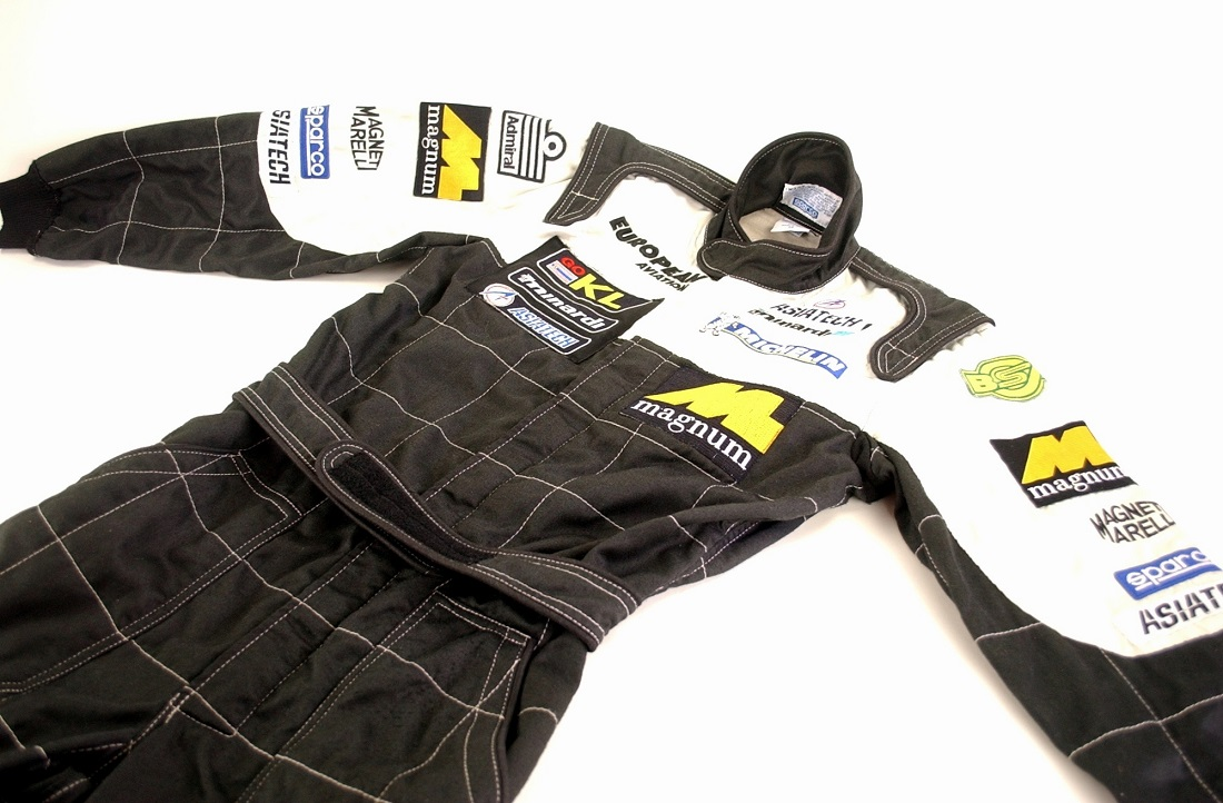 Original 2002 Minardi F1 race suit