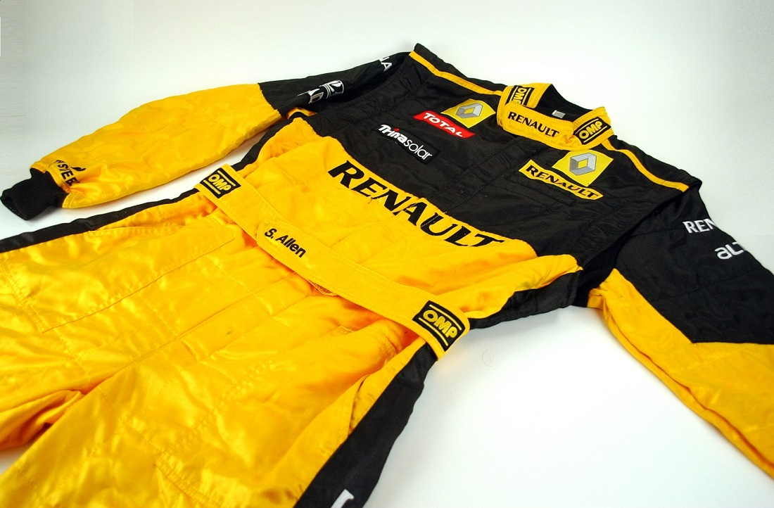 Original 2010 Renault F1 mechanics overalls