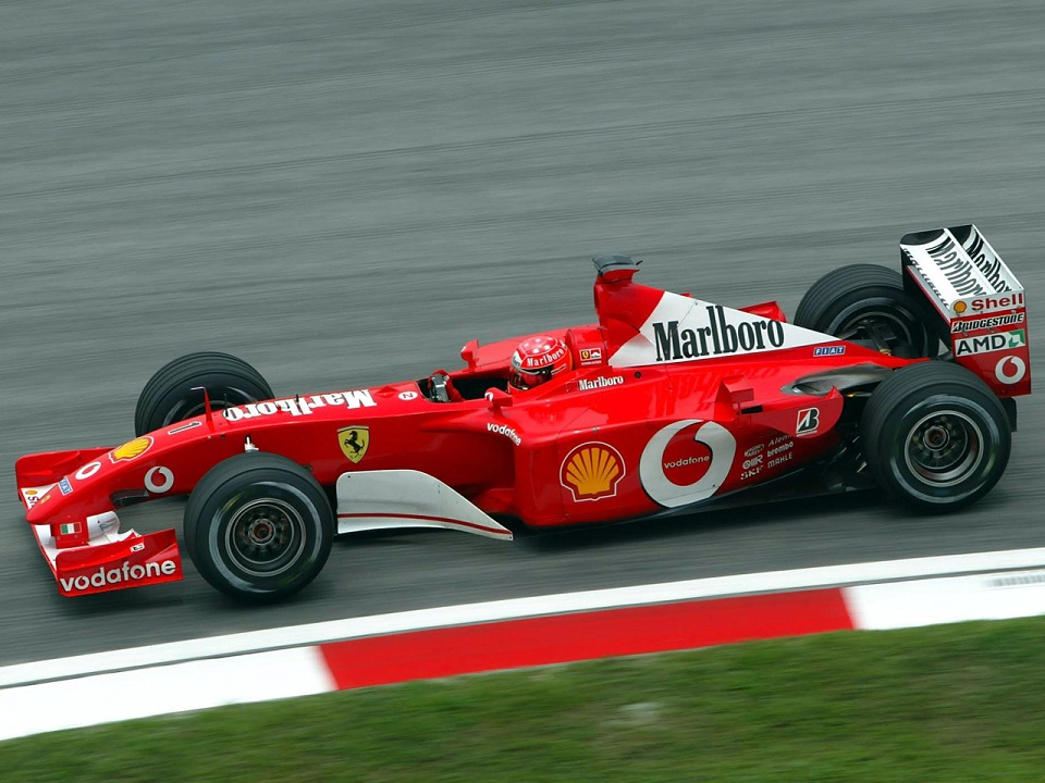 ferrari f2001 michael schumacher - photo #33
