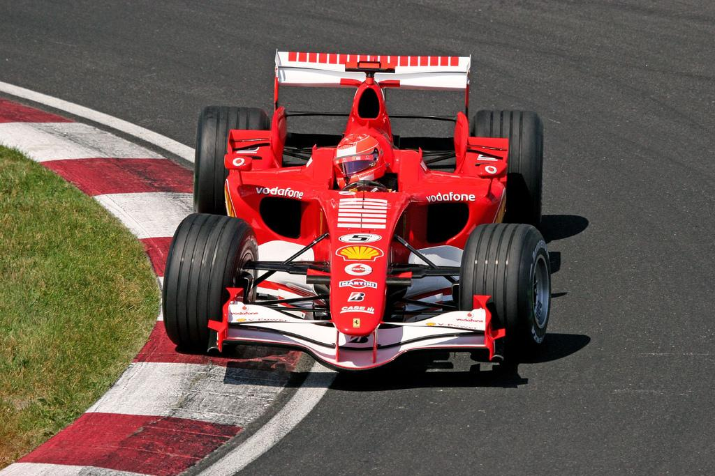 Ferrari 2001 piston - World champion car - Michael Schumacher