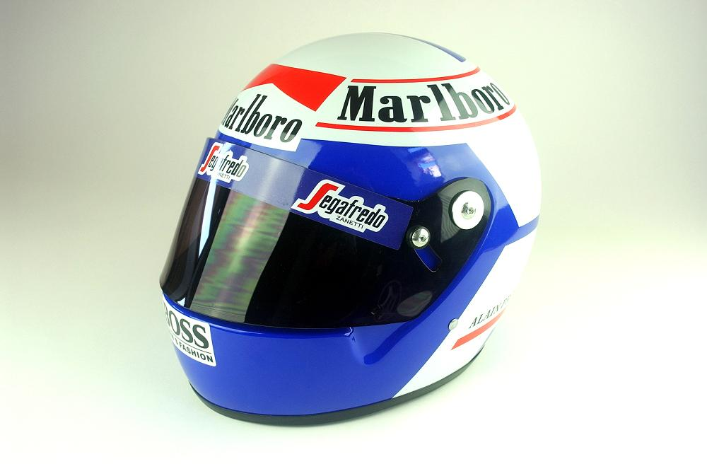 Alain Prost casco - Replica in scala 1:1