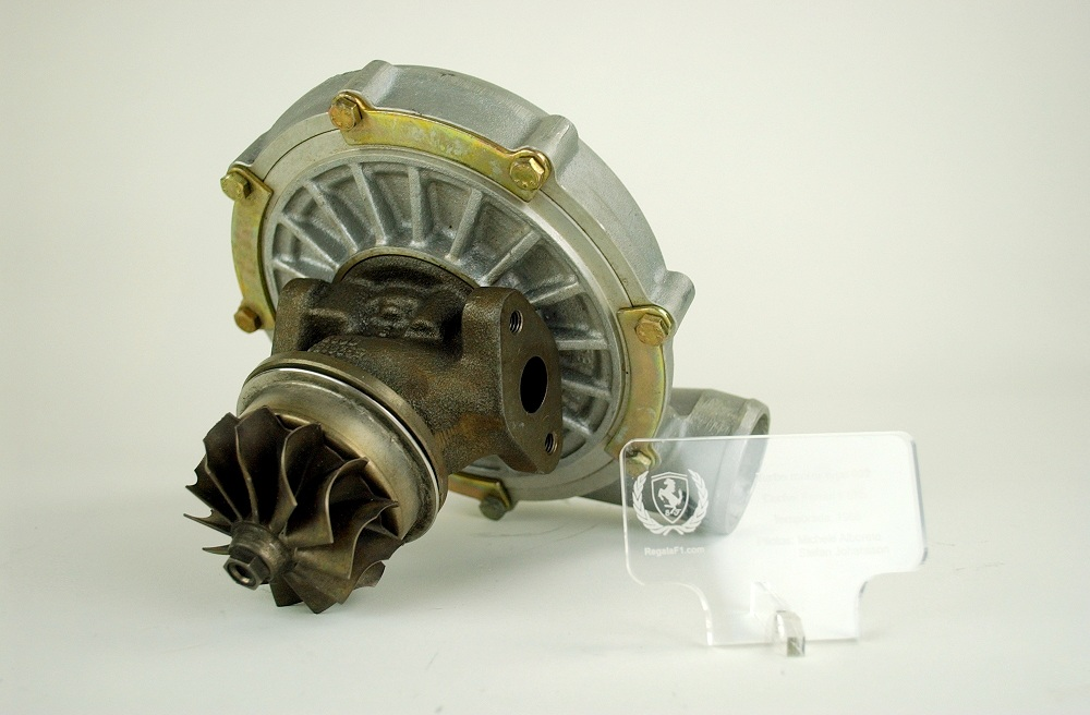 Ferrari type 032 engine turbocharger